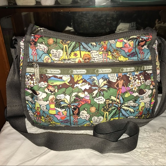 Lesportsac Handbags - Lesportsac Hawaii Edition Luau Cross Body Bag